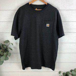 Carhartt Men's S/S Original Fit Pocket T-Shirt Lrg